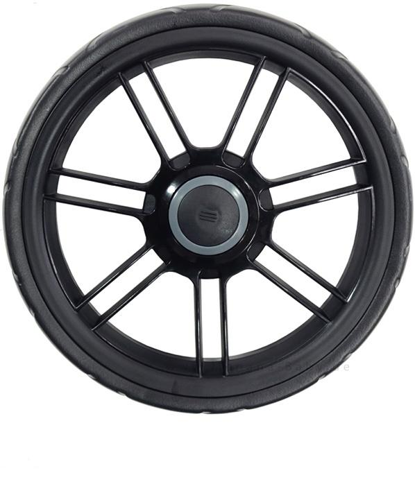 Teutonia Front Wheel 7R 190 Black - Teutonia