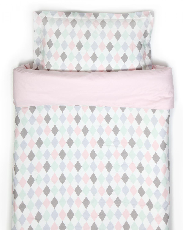 NG Baby voodipesu komplekt Harlequin Rosa - NG Baby