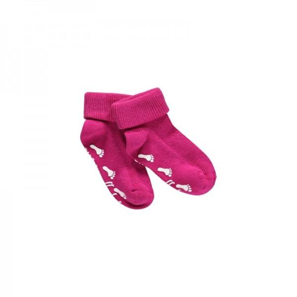 Mala Baby ribsock w.ABS -One small Step 19\22 Clear Red - Mala