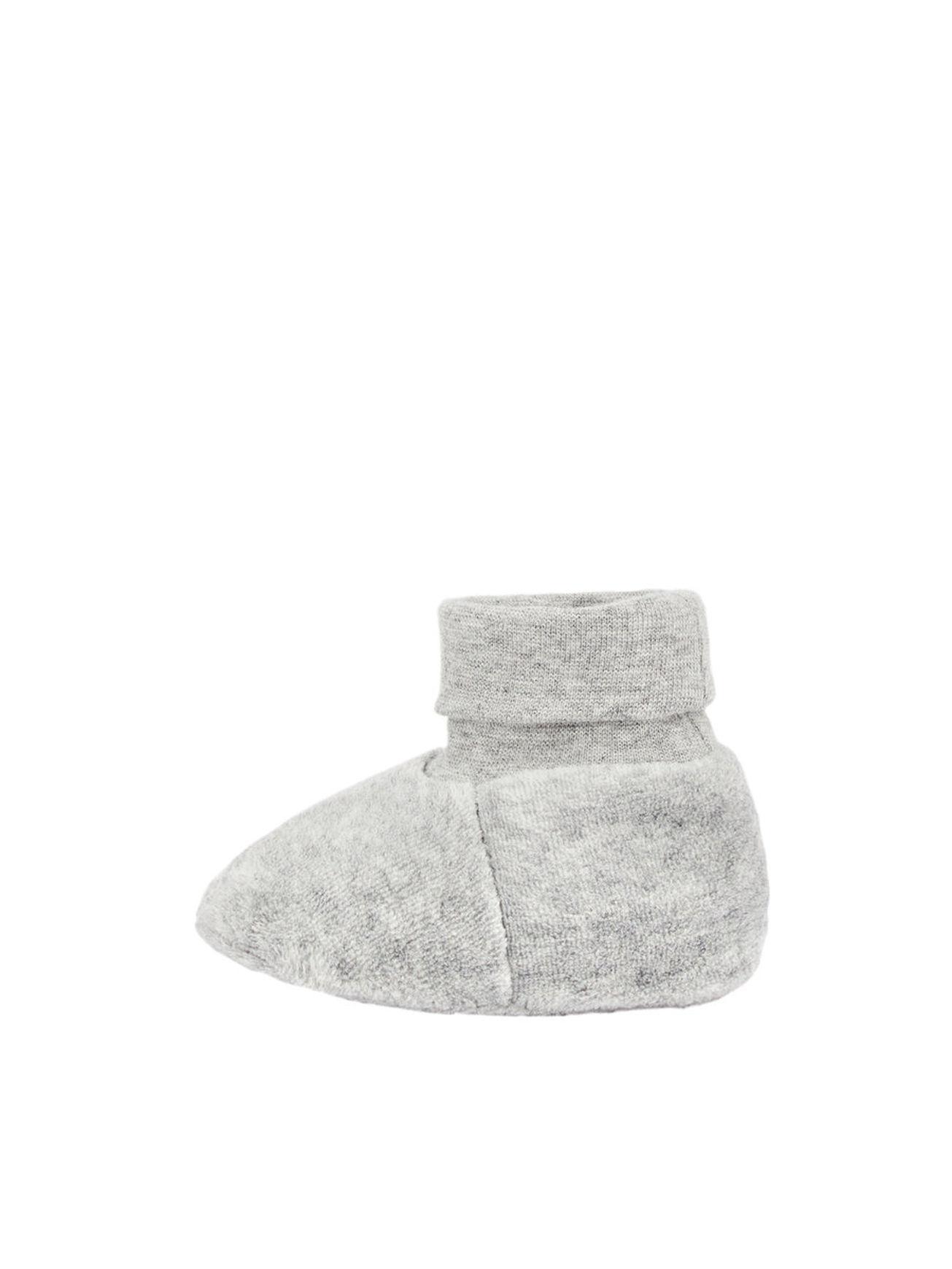 NAME IT NBNUNNELA VEL SLIPPERS Grey Melange 50/56 - NAME IT