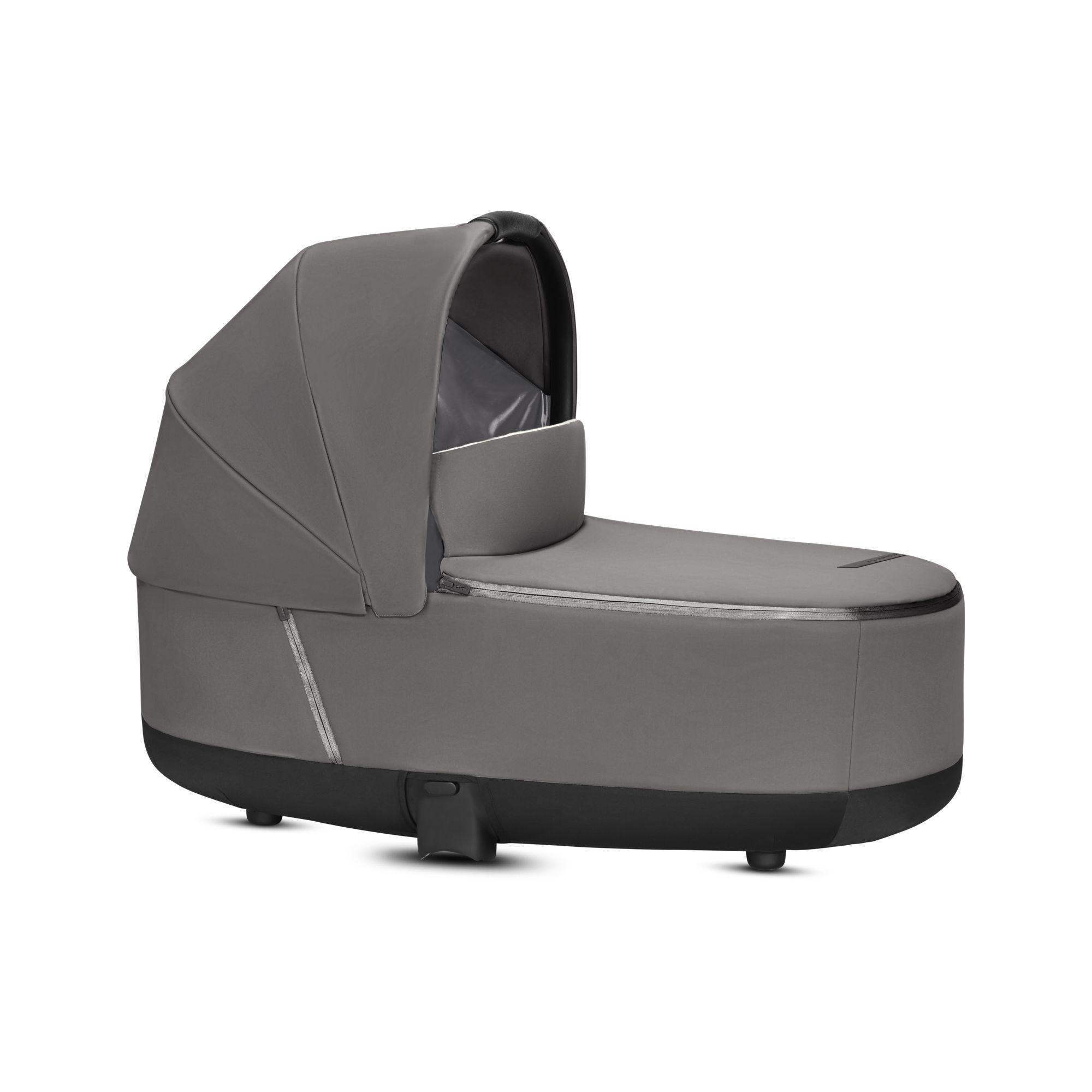 Cybex Priam 2019 komplektas Manhattan Grey + Chrome važiuoklė - Cybex