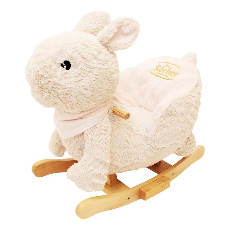 Jumpy Gerardos Toys šūpuļdzīvnieciņš Zaķis ar mūziku - Jumpy