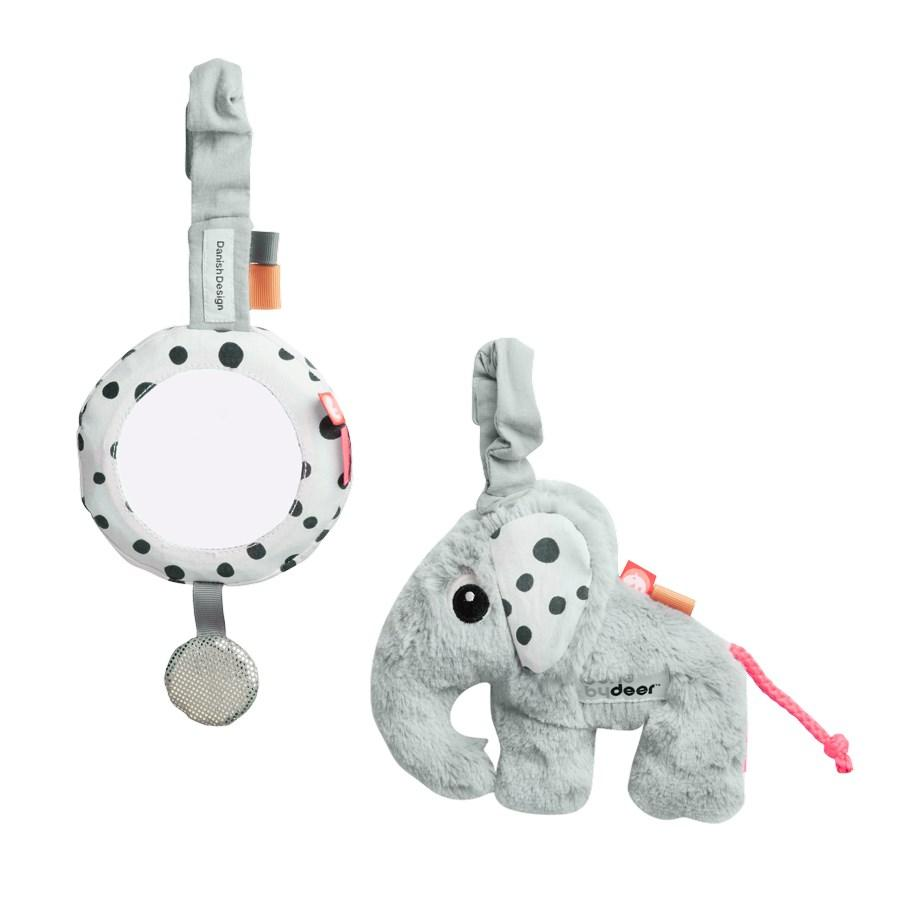Done by Deer To go activity set, Grey - Done by Deer