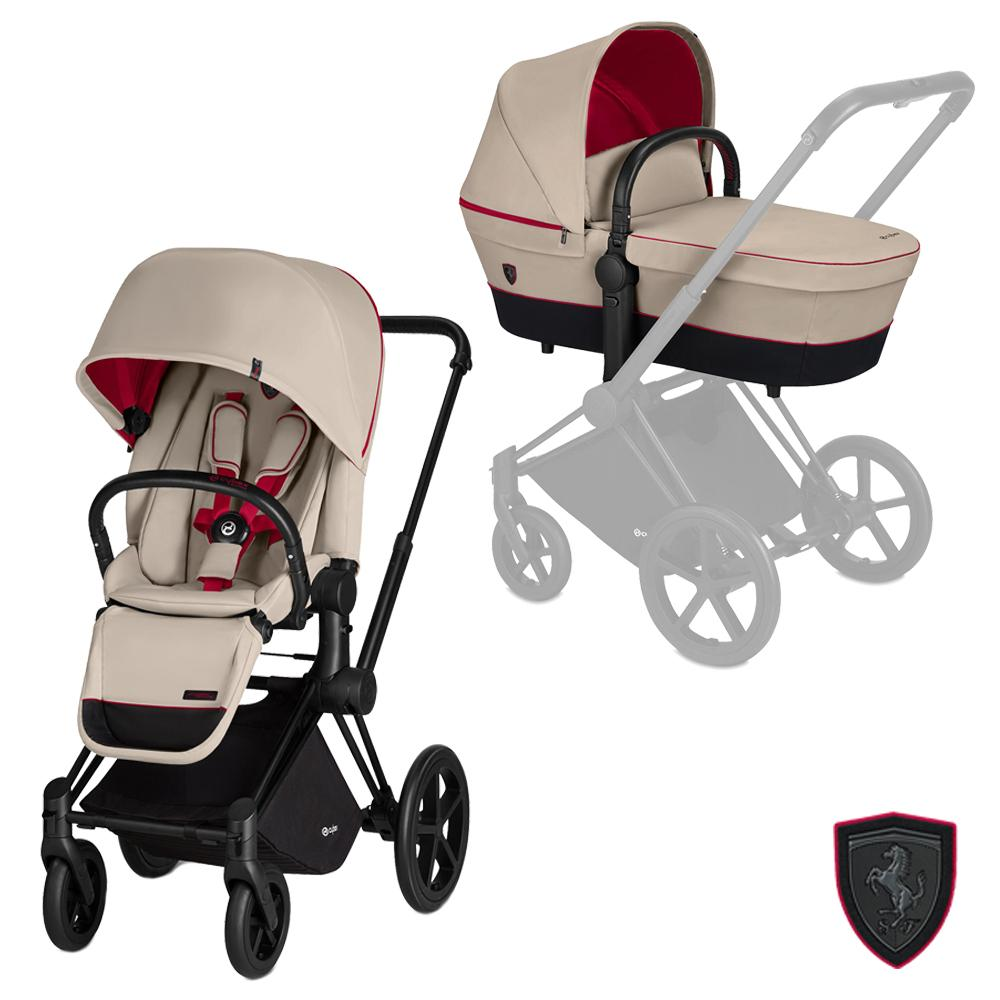 Cybex Priam stroller set SCF Silver Grey - Cybex