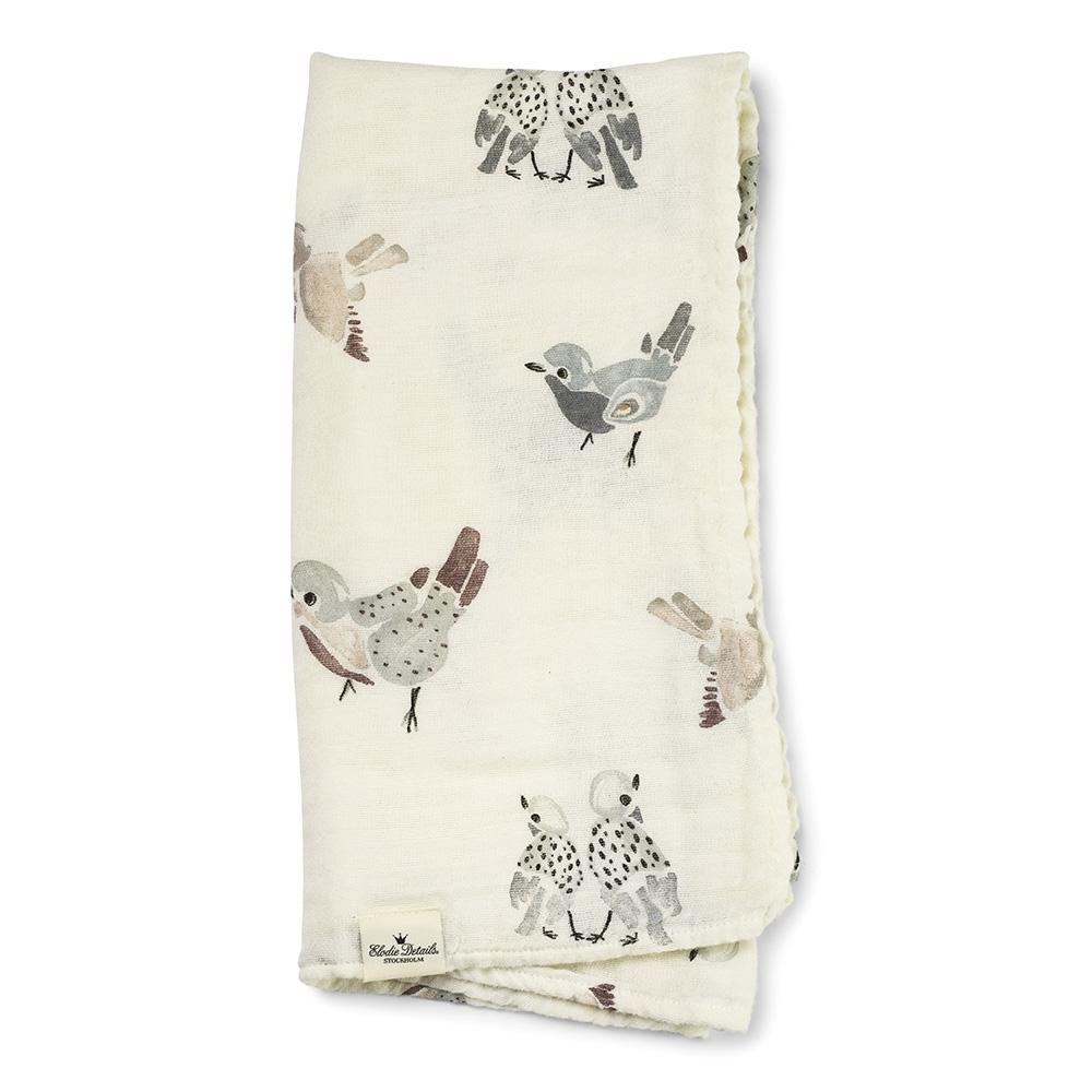 Elodie Details Muslin tekk Feathered Friends  - Elodie Details