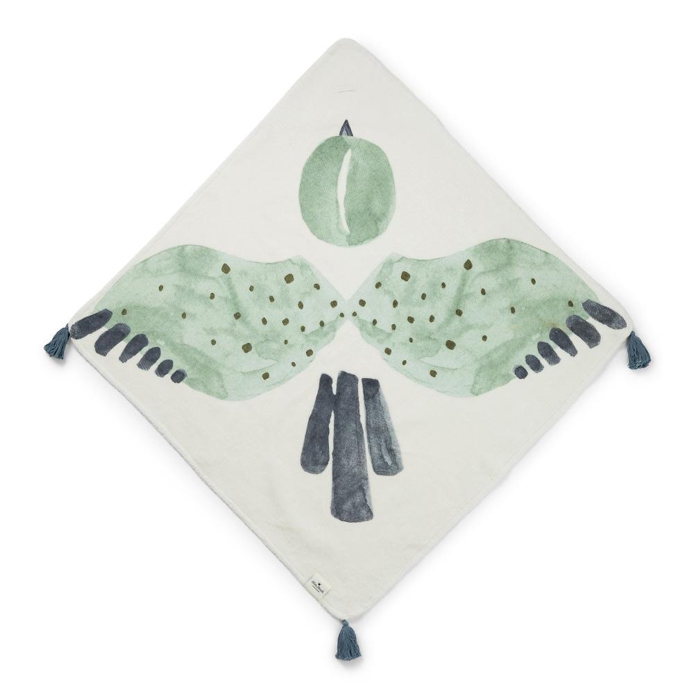 Elodie Details kapuutsiga vannilina Watercolor wings  - Elodie Details