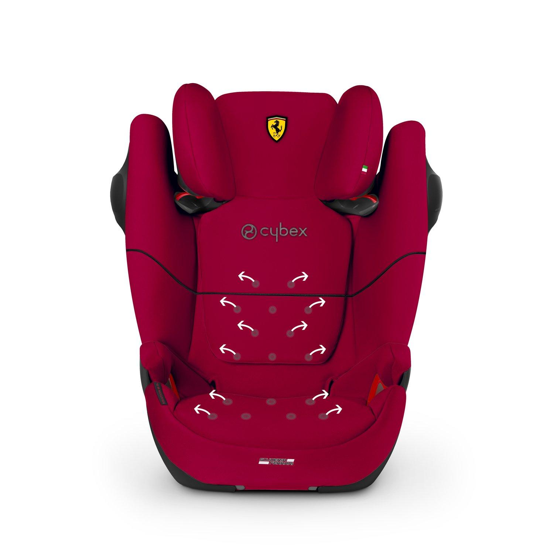 Cybex Solution M-Fix SL 15-36kg turvatool Ferrari Racing Red - Cybex
