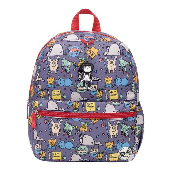 BabyMel Zip & Zoe Junior Backpack Monster - BabyMel