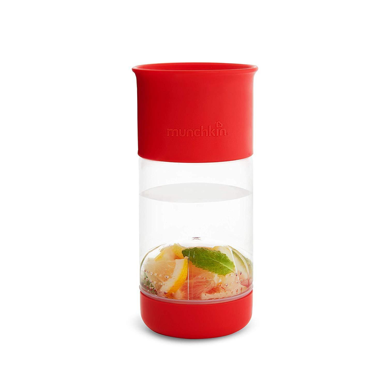 Munchkin joogitops puuviljapressiga punane (414ml) - Munchkin