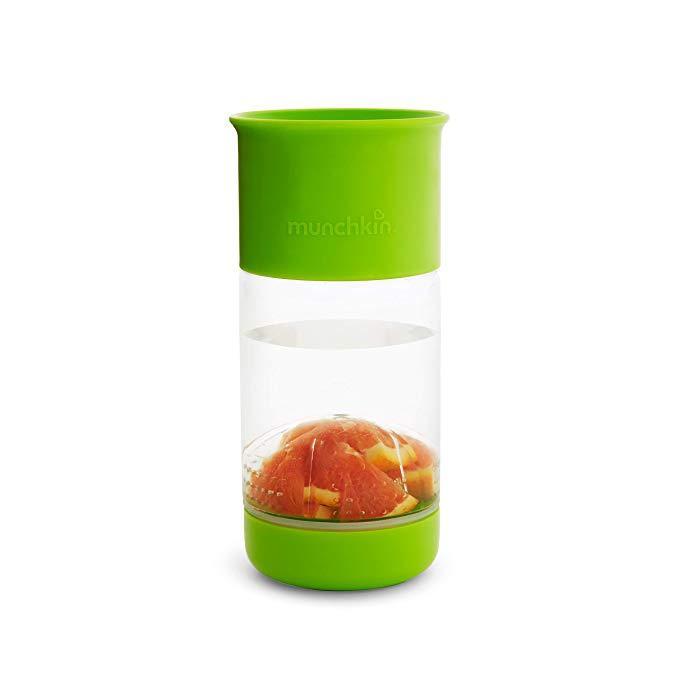 Munchkin joogitops puuviljapressiga roheline (414ml) - Munchkin