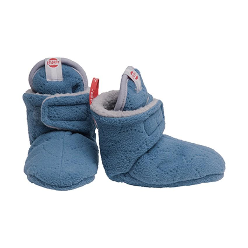 Lodger Loger Baby slipper Am.Fifities 6-12 m Greige - Lodger
