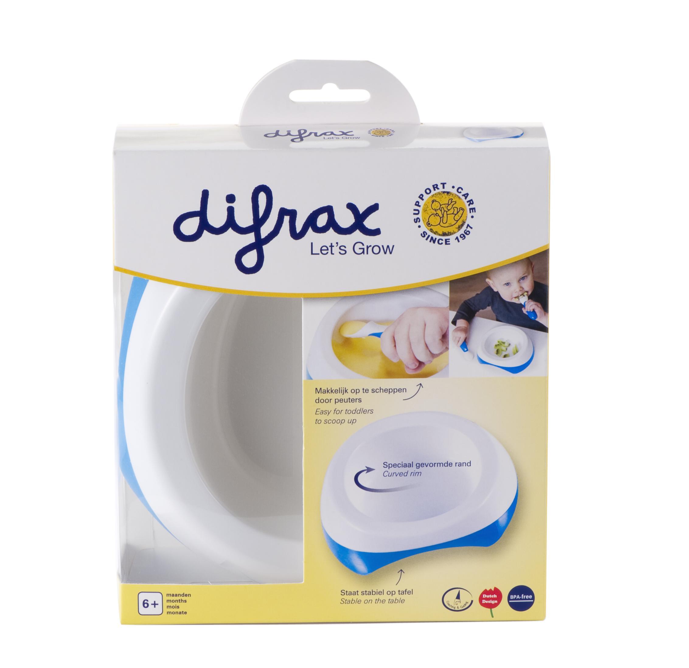 DIFRAX dubenėliai mokymuisi valgyti - Difrax