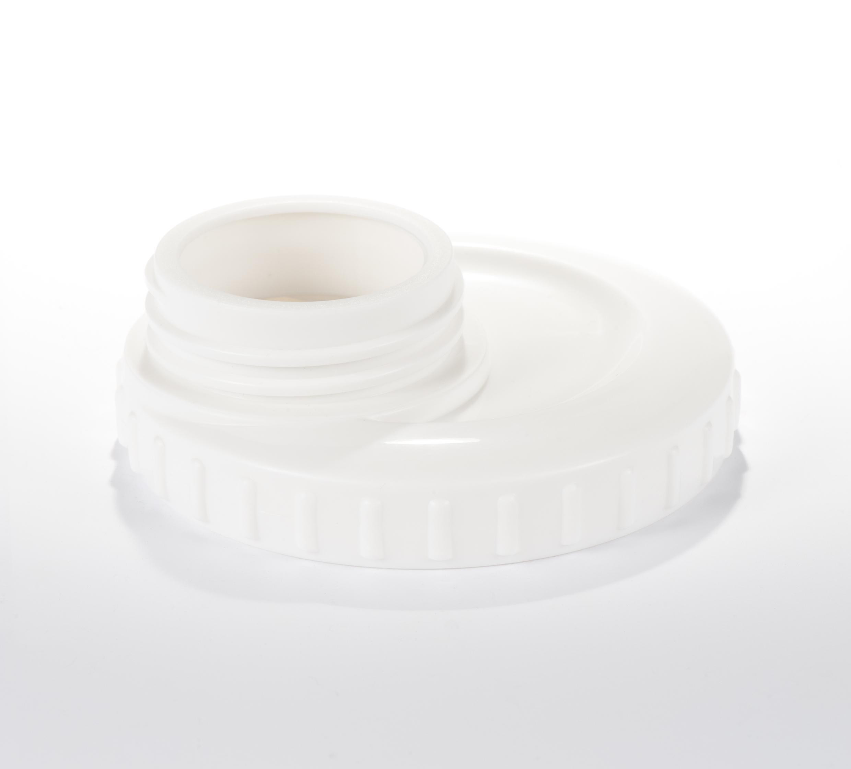 Difrax pientraukio BTOB jungtis + 2 vnt. indelių pienui - Difrax